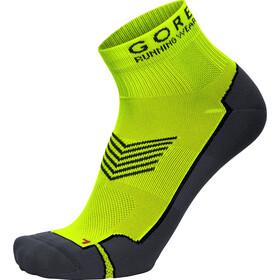 GORE RUNNING WEAR Essential Running Socks yellow/grey